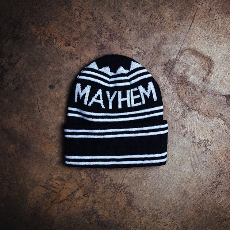 Beanies are really a year-round item, let's be honest, and Quality Mayhem is our recipe. Check out our selection of headware on #hooniganDOTcom.