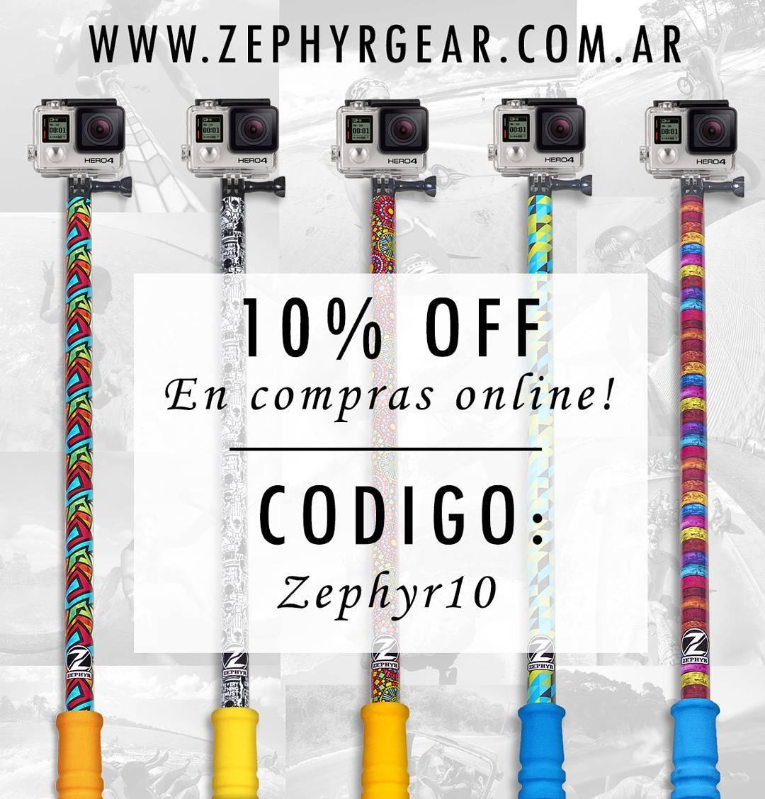 Compra en nuestro #ShopOnline con un 10% OFF !! www.zephyrgear.com.ar!