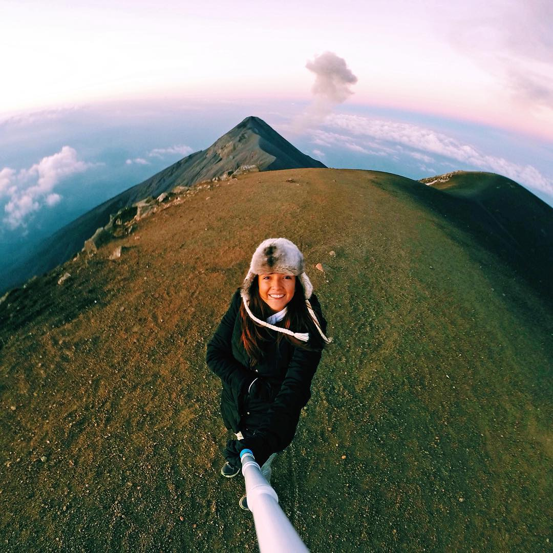 Photo: @dannacanek Location: Guatemala GoPro HERO4 | GoPole Reach #gopro #gopole #gopolereach #hiking #guatemala