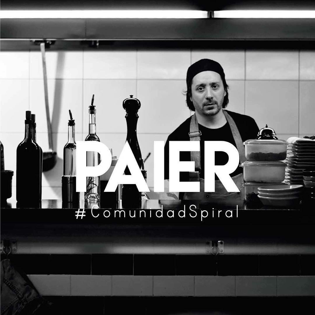 Les presentamos a Paier, amante de la cocina, del skate y miembro de la gran familia Spiral.  #ComunidadSpiral #Cheflife #Skatelife