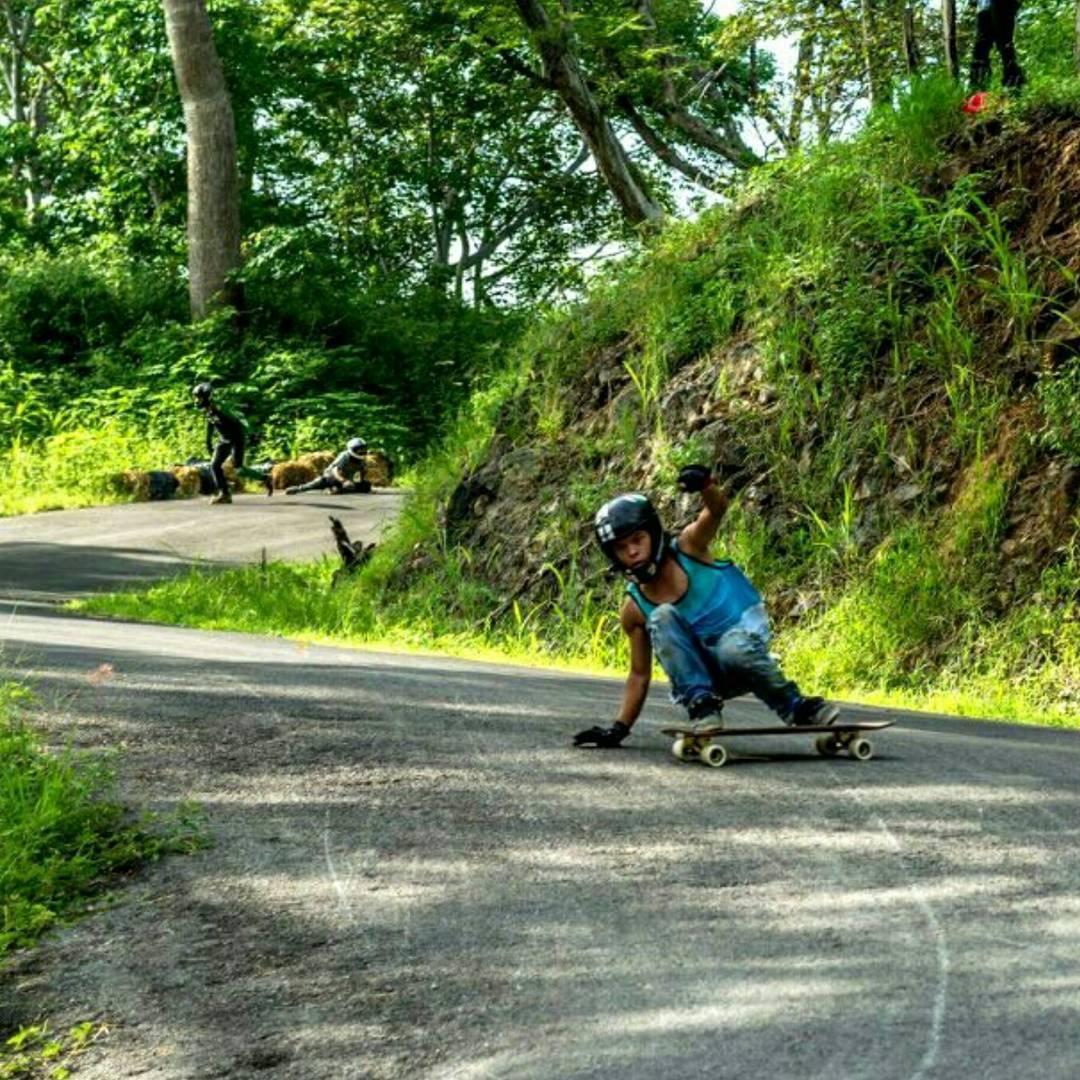 Leon--leon_lb2 skating his favorite spot in Costa Rica on his tried and true Super Fatty!  #leon #costarica #superfatty #bonzing #venombushings #riptidesports #surfrodz