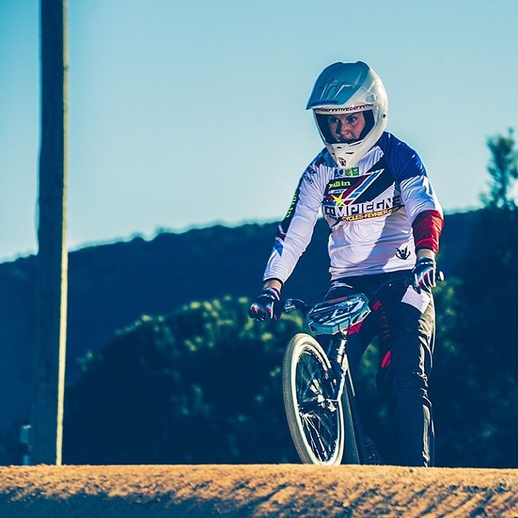 Boo! Help sending healing vibes to our #BMXrace French Champion Eva Ailloud who will sadly miss the first round of the World Cup in Argentina this weekend with multiple wrist fractures. We hope to see you back on 2 wheels soon! #SixSixOne...
