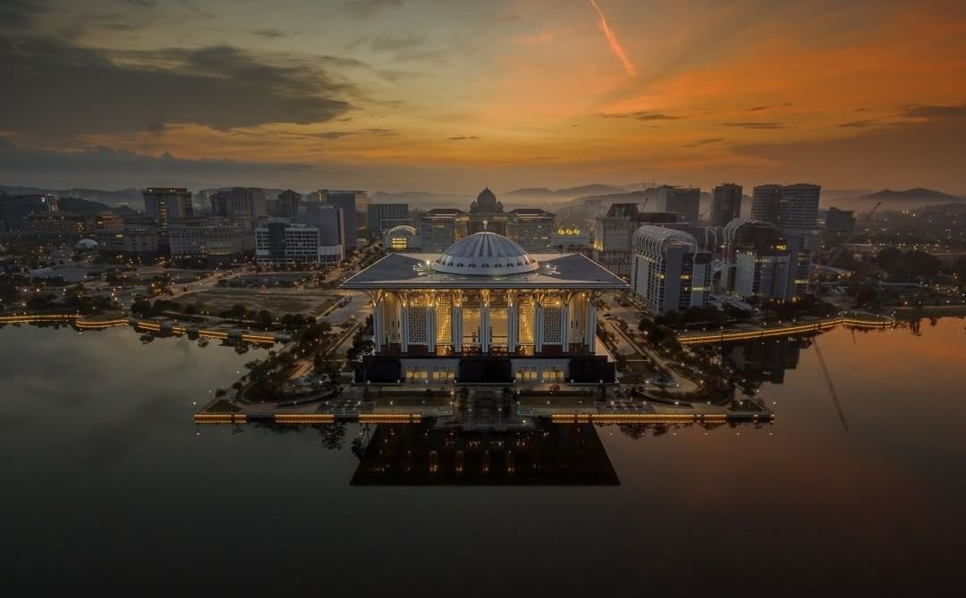 Putrajaya, Malaysia  Credit: Nasrul Effendy | #DJI #Phantom  Use #IamDJI to share your aerial creations with us!