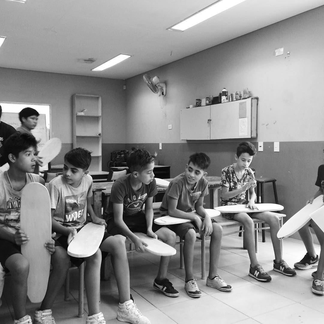 La orquesta! #deslizate #skate #barriolaloma
