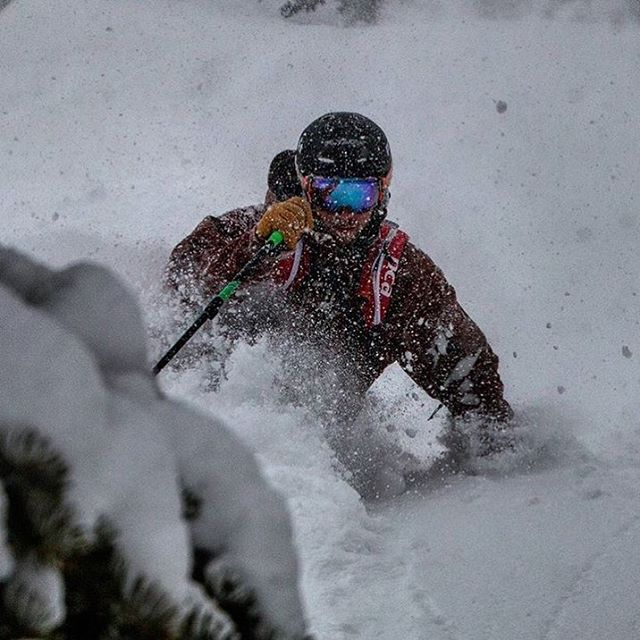 @timswartz getting some new storm snow @jacksonhole .  PC: @jdannetts