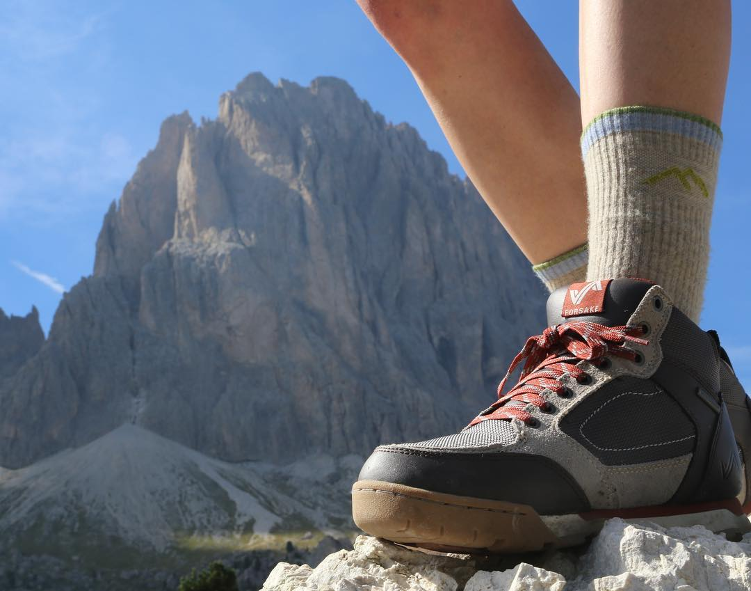 @izzi_u13 showing off her Clydes on a hike through Italy's northern peaks. ⛰ #getoutthere #adventureworthy