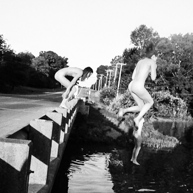 @bafetus is taking a cross country trip this summer. You should follow her. #issue30 #filmphotography #steezmagazine #bridgejumping
