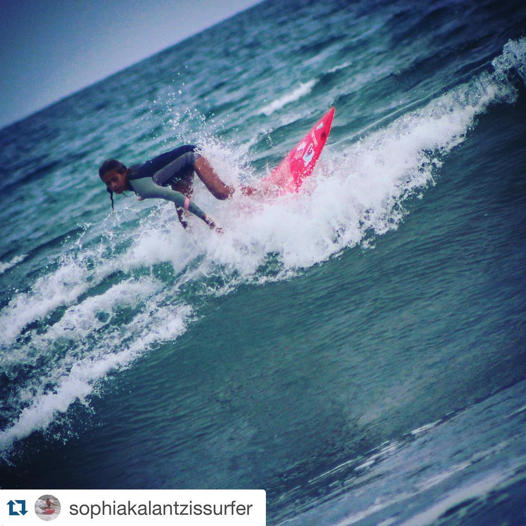 Repost from @sophiakalantzissurfer ・・・ My Happy Place
