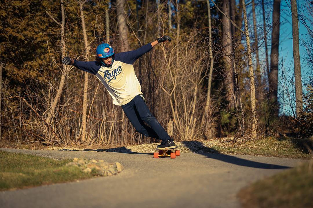 Happy birthday to #rayneteam rider @reyfaiz from Ontario, Canada! Whatever you do today, make it as steezy as above.