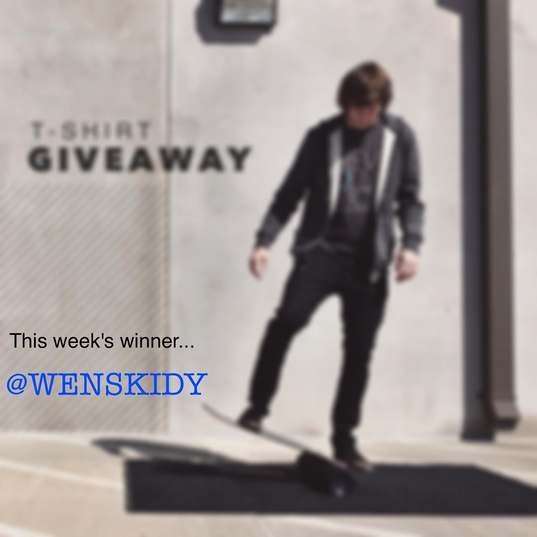 This week's winner is @wenskidy !! Stay tuned for more giveaways.