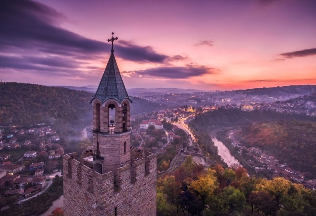 Veliko Tarnovo, Bulgaria  Credit: Vladislav Terziiski | #DJI #Phantom  Use #IamDJI to share your aerial creations with us!