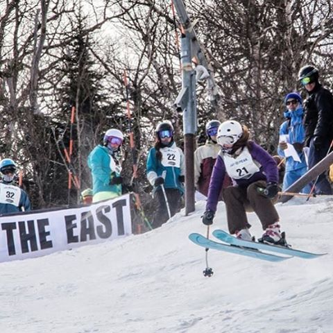 @sar.shredman threw down at @skitheeast free ride! Congrats! #skitheeast #skilikeagirl #sisterhoodofshred