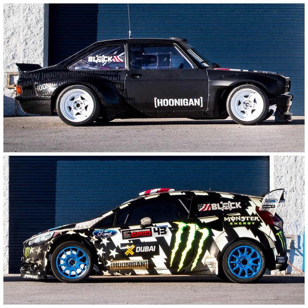 Two days, two drivers, two very different (but very fun) race vehicles. Came out to Las Vegas to get some seat time before the @FIAWorldRX season starts, ended up having an absolute blast in these things with new @HooniganRacing driver...