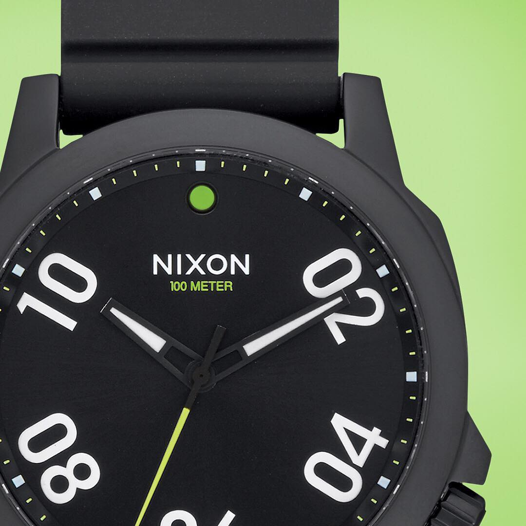 Never go it alone. With its rugged case and deluxe silicone band, the #Ranger45 Sport is built for following you off the beaten path. #Nixon