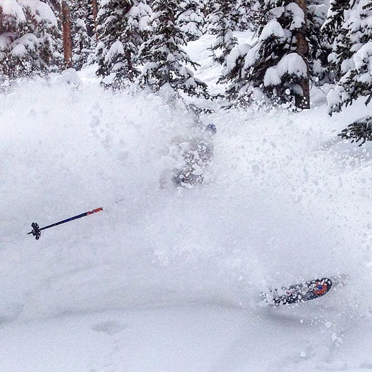 The #skiacting was too easy today @winterparkresort #powday #pillowpoppin