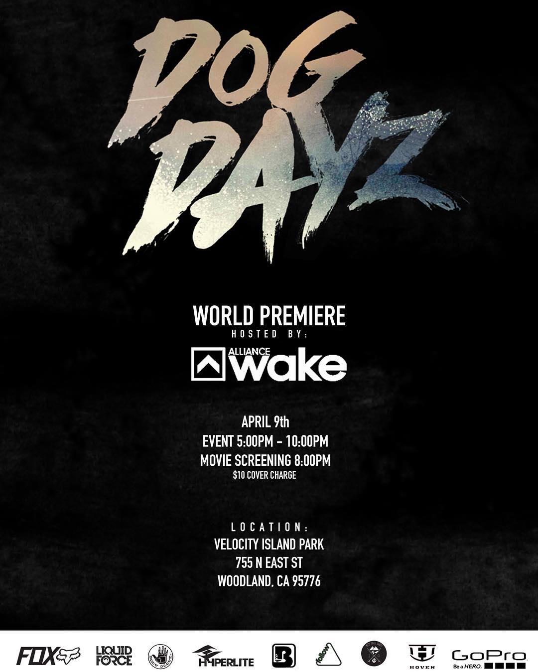 The @dogdayzfilm is finished!! The premiere is set for April 9th at @velocityislandpark hosted by our good friends at @alliancewake .  We can't wait to see what our team has put together for everyone!  #hovenvision #hovenwake #justbusylivin #dogdayz...