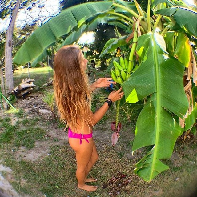 Organic locally grown, only the best! @camilakjaerby in our Tarni bottom! Odinasurf.com/products/tarni-bottom