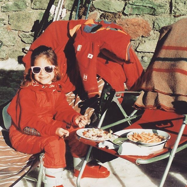 Crushing après since 1989 #skibum #tbt #zermatt #outdoorwomen