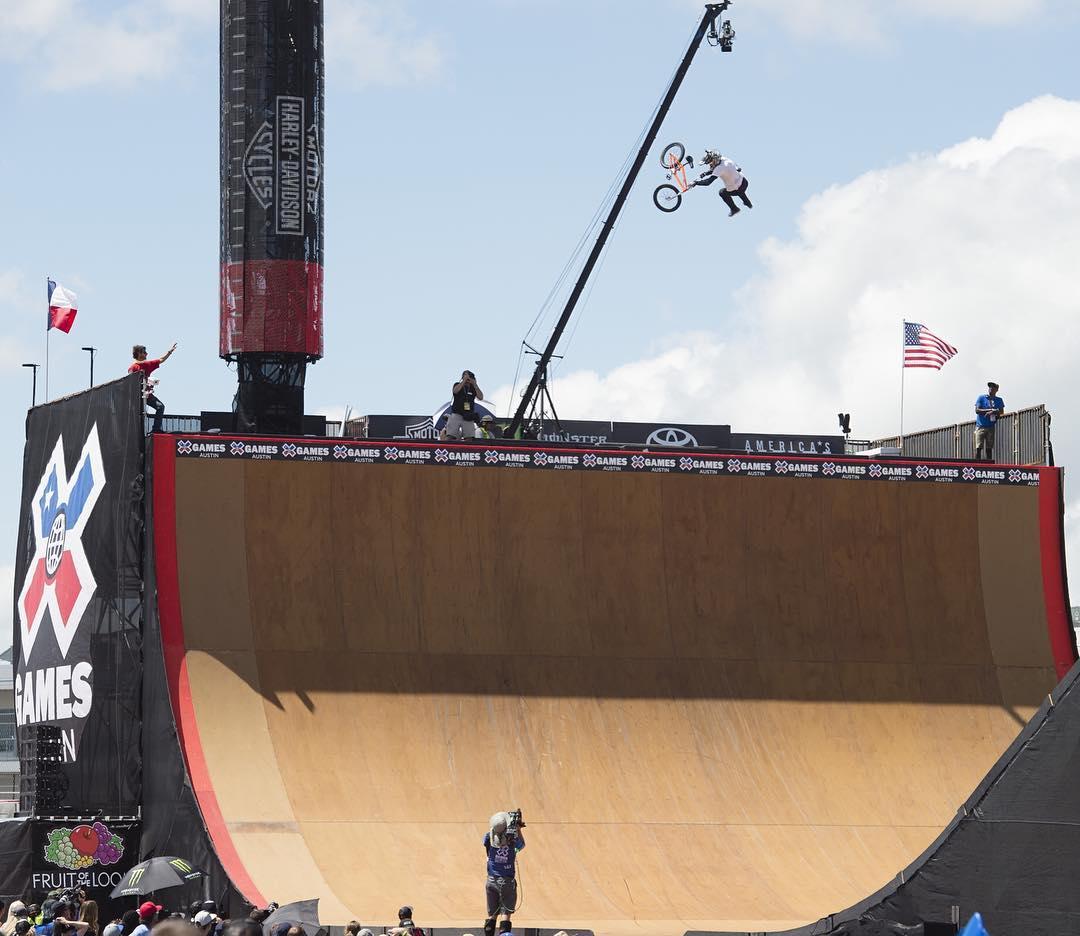 #XGames Austin BMX Disciplines • Big Air • Dirt • Park • Street • Vert (