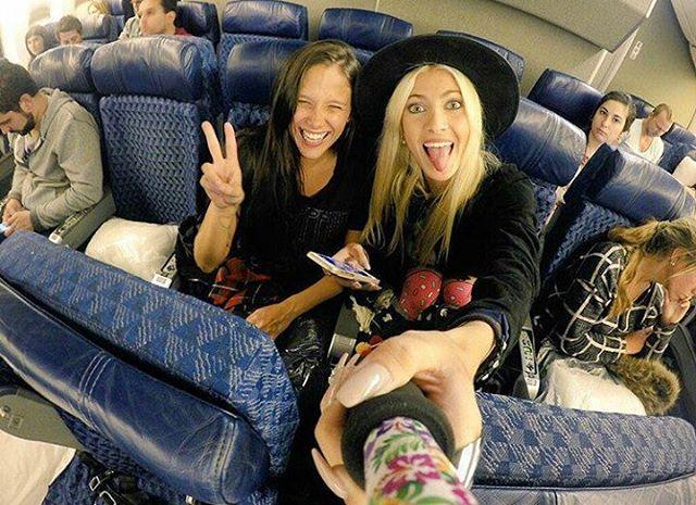 @caleruggeri y @barbiepucheta de viaje con su #ZephyrPole!