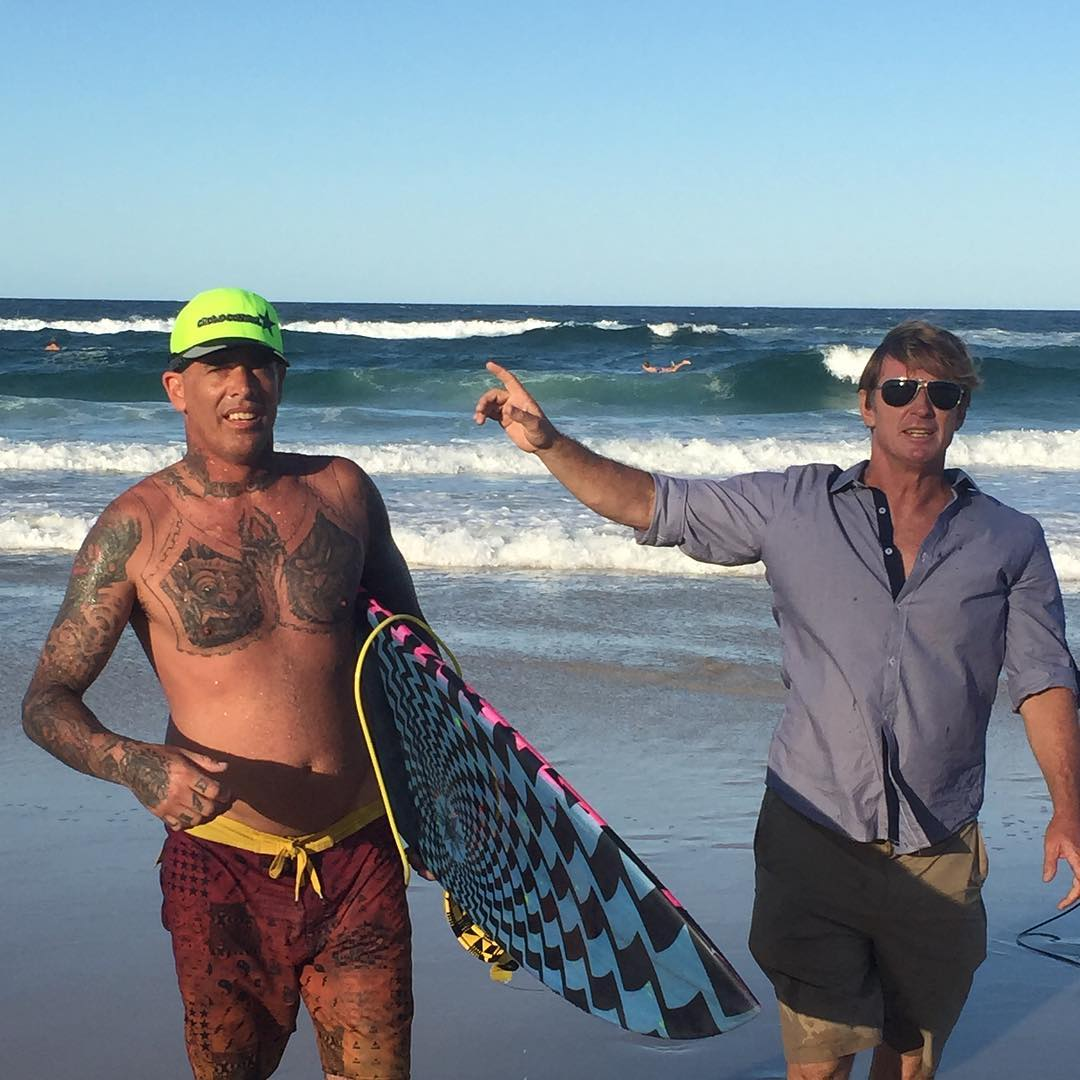 Christian Fletcher and Cheyne Horan what a wild mix. These two guys have inspired surfers across the globe to break out of the box and have changed what we think are limits. We salute you. #3dfins #dimpletechnology #fins #3dfins_usa #3dfins_jpn...