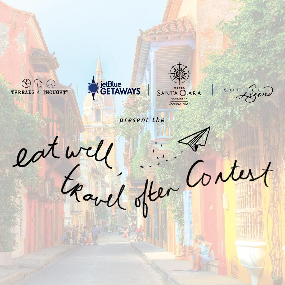 Don't forget to enter the amazing contest we have going on right now!! We teamed up with @jetblue and @sofitelcartagena to give you the trip of a lifetime! Courtesy of #JetBluegetaways, one winner & a friend will win round trip airfare and a 2-night...