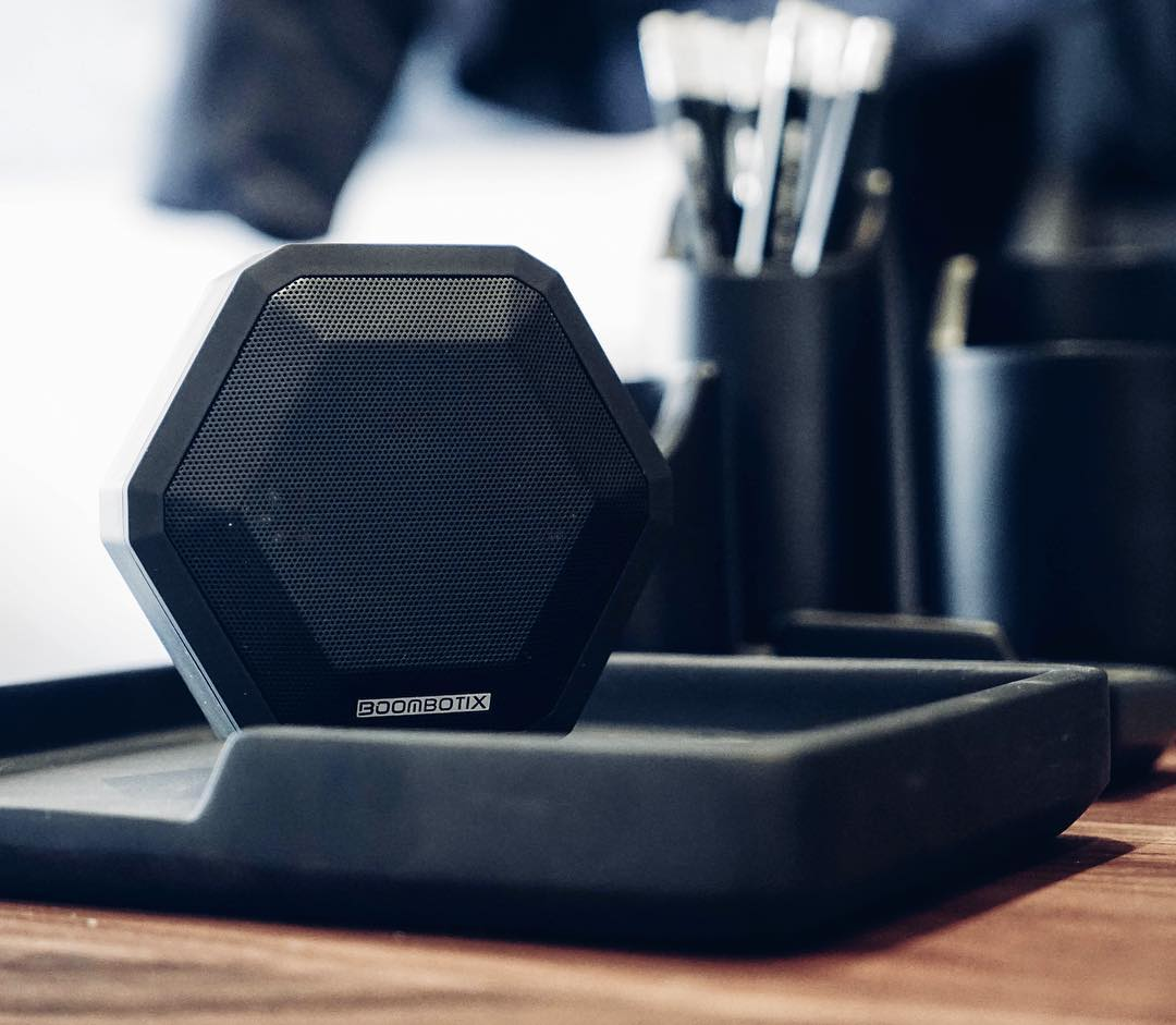 Triple Black #Boombotix  Get your Boombot Pro - link in our profile  #essential #design #audiophile #bluetoothspeaker