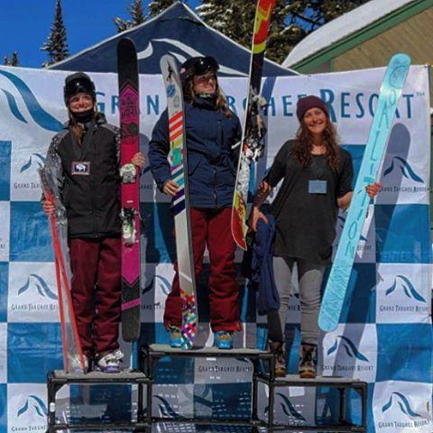 @jaspervanspoore strikes again! Second place at Nationals at @grandtargheeresort. Congrats Jasper! // #sisterhoodofshred #ski  #tetons