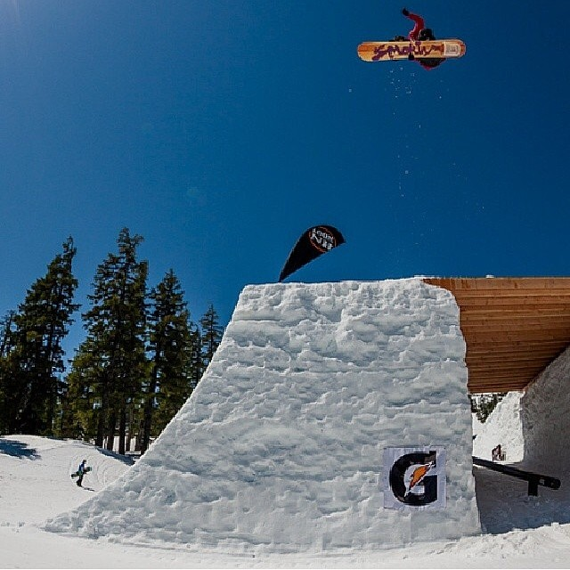 Here's a shot of @devinallen_ from last seasons #Superpark we can't wait for Superpark this year. #forridersbyriders #handmadelaketahoe