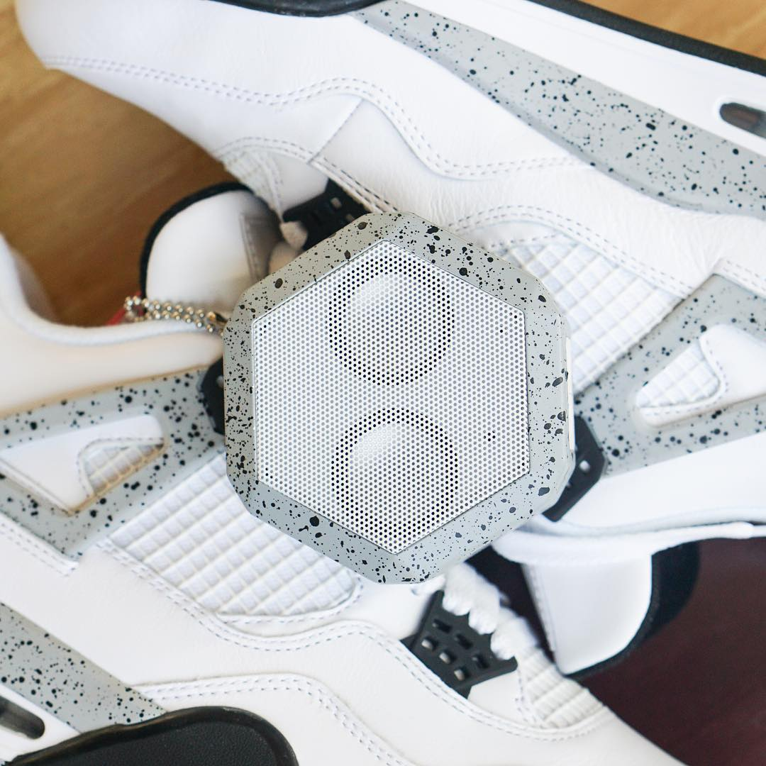 Congratulations to @cgoods4 on winning the White Cement 4s and the matching Rex Speaker (1 of 1) customized by @sab_one.  Stay tuned for next month's giveaway where we will be working with @WDYWT. Make sure to keep following @boombotix for updates on...
