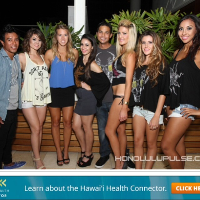 #organik representing at #elite #party with the #pineapples and #palmtrees #eco collection from #organikclothing #organik #fashion show #micromodal #organic cotton #tees #tanks #madeinusa at @trumpwaikiki #waikiki #hawaii PC: @honolulupulse ...