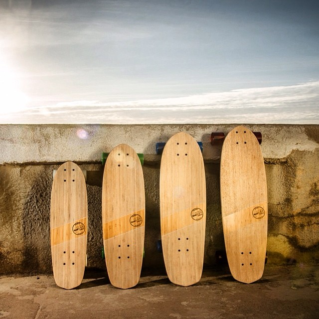 Meet the family! All crafted with bamboo as the primary choice of wood. We choose bamboo due to its strength and performance, while being a renewable resource. #naturallogskateboards #high-performance #eco-friendly #vintage #bamboo #cruiser...