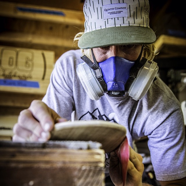 Shaped by hand, shaped by man. Remember to support local businesses this spring. @slick_rikk #naturallogskateboards #usmade #handcrafted #bamboo #cruiser #skateboards from #sandiego  www.naturallogskate.com