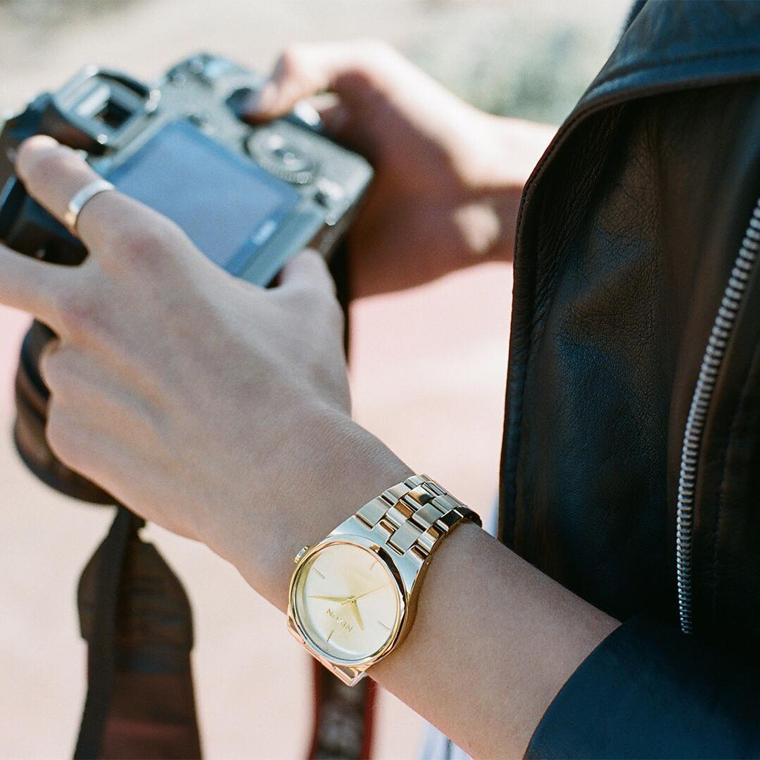 Perfect for trendsetters and style mavens alike, the #Idol injects a simple yet chic sensibility into the every day. #Nixon