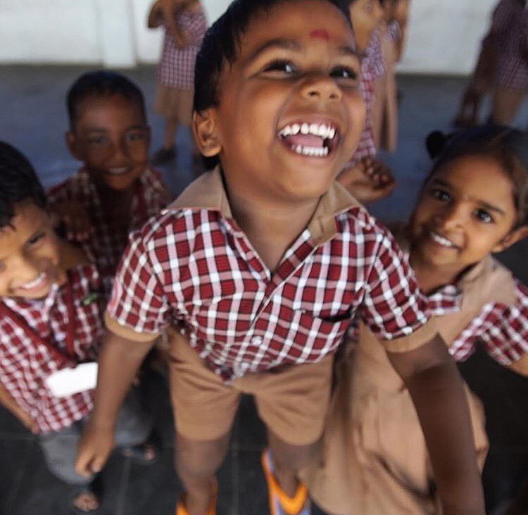 Never forget what drives your passion! Kylor Melton captured these smiles while at Aravind's eye care camps in India. This is why us here at SOLO Eyewear do what we do!  #liveandgive #soloeyewear