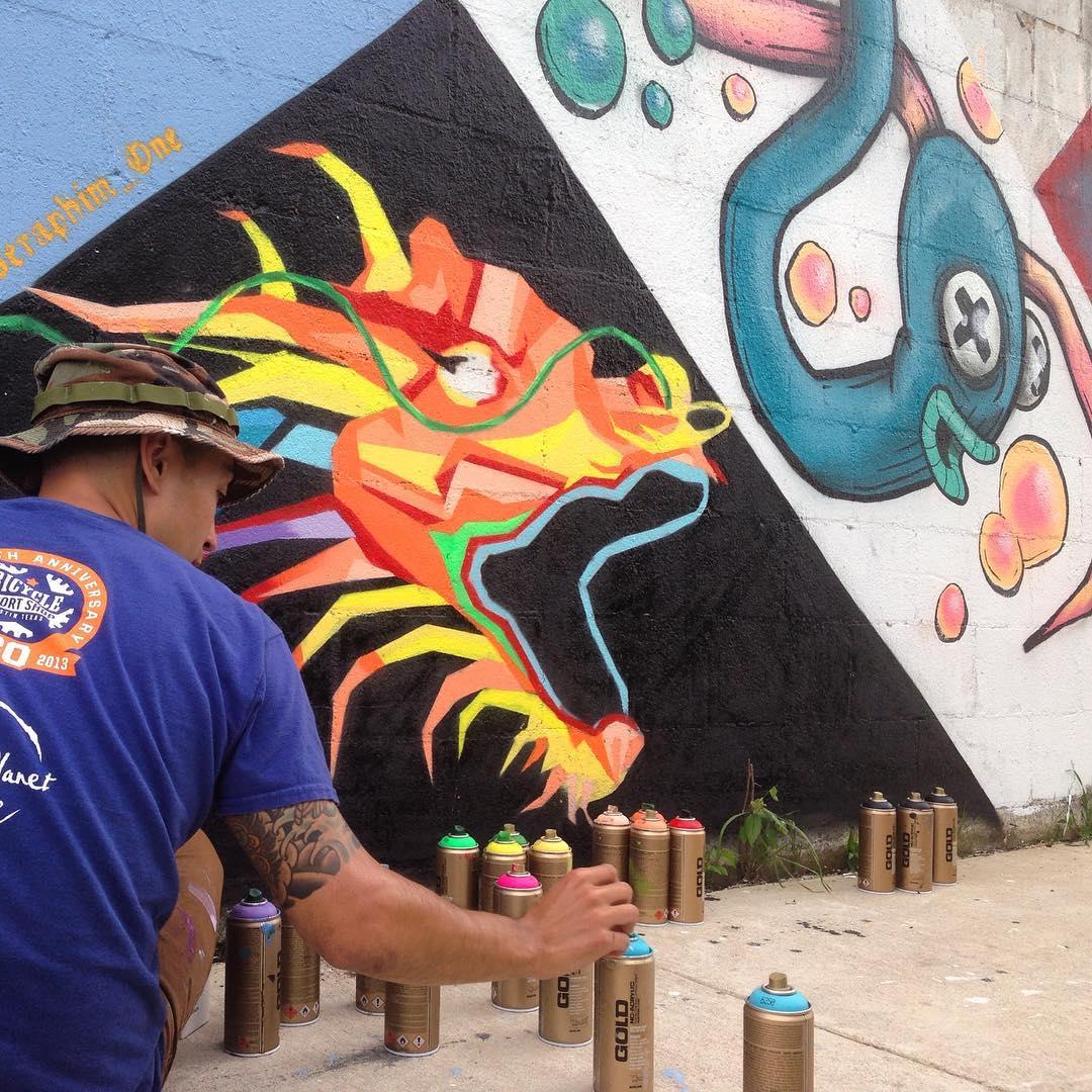 @akbernal & @iammagill • • #atx #austintx #texas #tx #spratx #art #mural #streetart