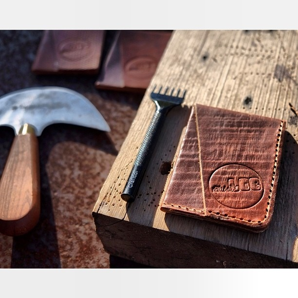 Just added our new wallet to the site! Go check it out. 100% handmade by us $40 www.naturallogskate.com #handmade in #California #horweenleather #minimilist #cardwallet #handstitched #handcrafted #antique #barnwood #embossed #leather #madeinusa