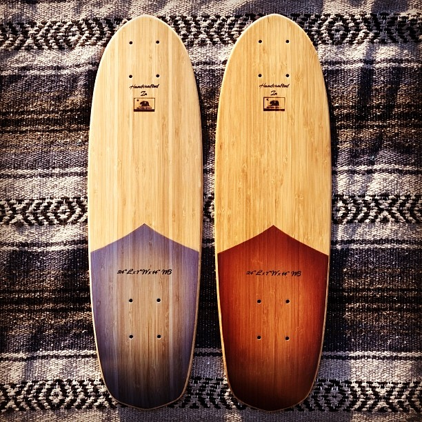 Customize your mini. Prices start at $100 www.naturallogskate.com #bamboo #cruiser #skateboard #handcrafted in #California #madeinusa