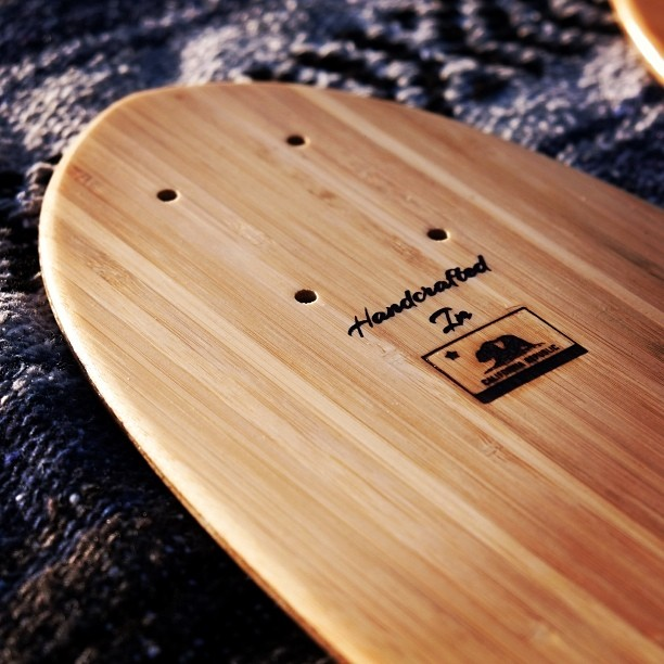 www.naturallogskate.com #handcrafted in the #california #republic #bamboo #cruiser #skateboard #madeinusa #notmadeofplastic