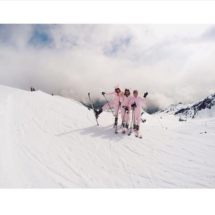 Happy Easter from our team to you! Get out there and enjoy the spring conditions!  #sisterhoodofshred #springskiing #easter #triplets