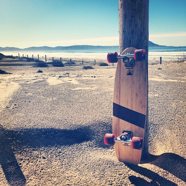 Merry Christmas! Enjoying the nice weather in #Baja after a busy week in the shop. #handcrafted #bamboo #cruiser #skateboards #bestgiftever www.naturallogskate.com