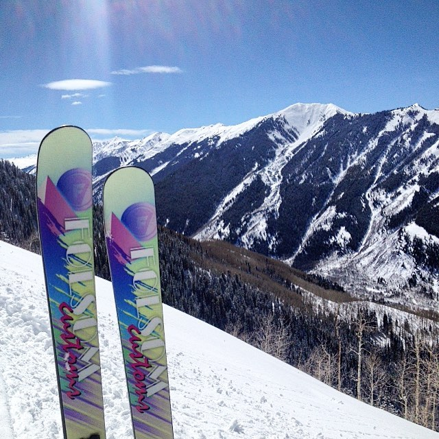 #happyeaster from all of us at #folsomskis @aspensnowmass