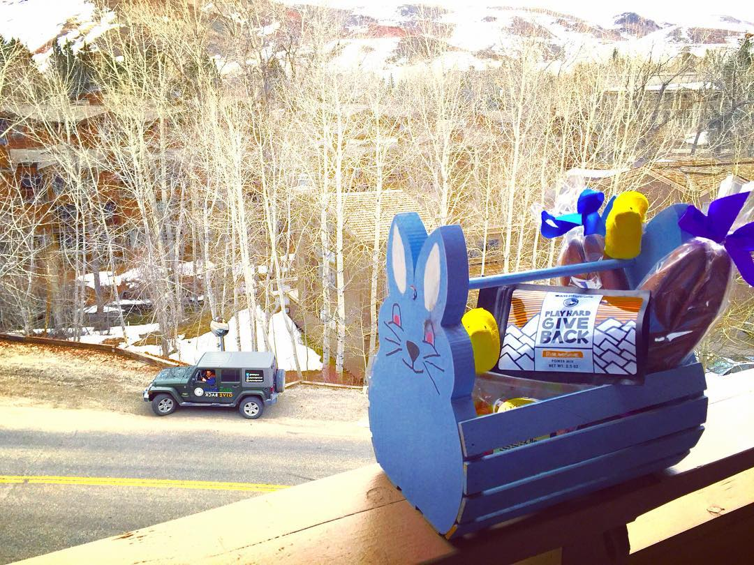 We woke up to some PHGB goodies from the Easter Bunny, did you?! Happy Easter!