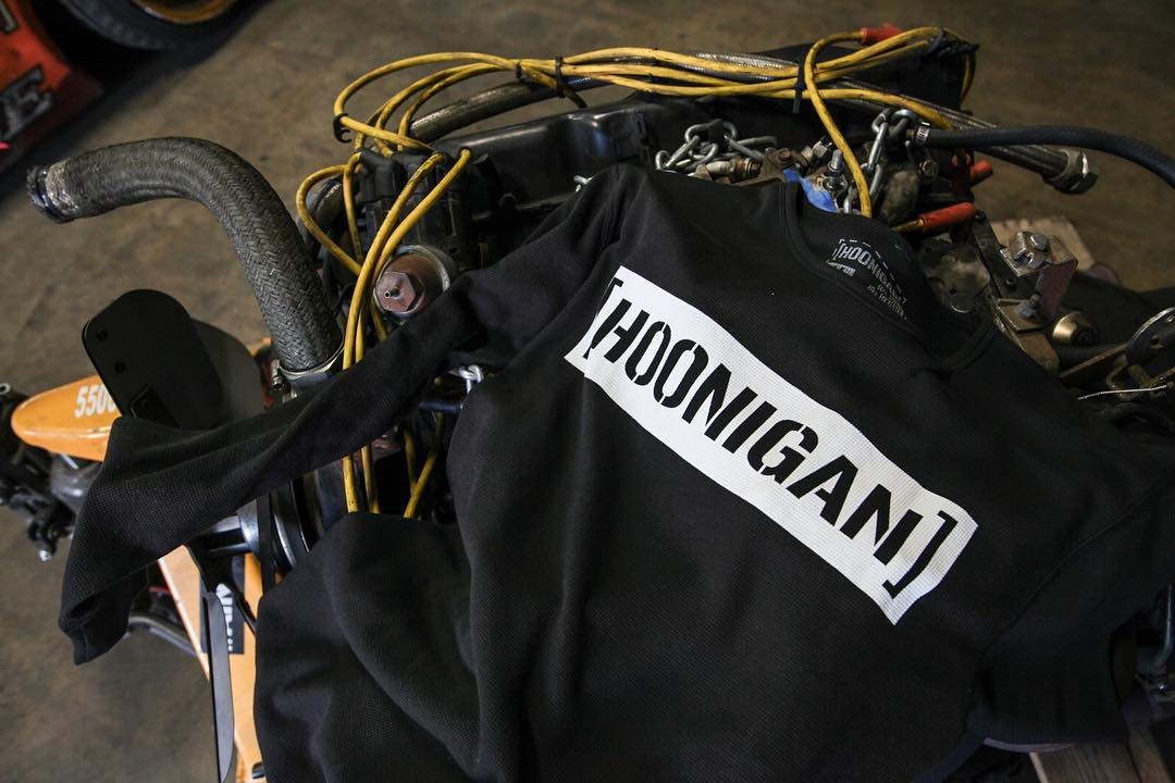 First one to name the motor (year, make and size) wins this long sleeve thermal C-bar. Can't? Well, you can still grab one on #hooniganDOTcom. #wewontsendyouthisactualone #unlessyouwantit