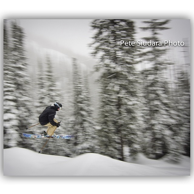 Pete Siudara catches a glimpse of Mitch Young as he flashes by in Whitefish, MT recently... #TRIBEUP Mitch!  Facebook.com/PeteSiudaraPhotographic  #pandapoles