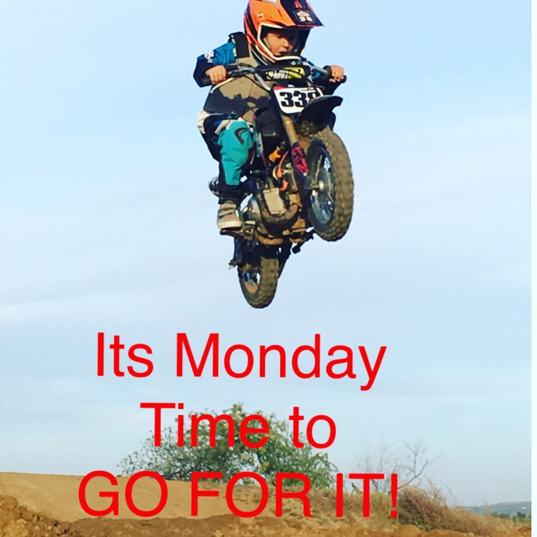 It's time to take a chance ! Live life. #Deegan38 #motivationmonday