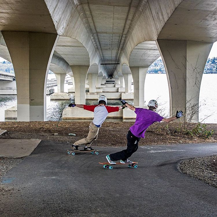 Nolan Kramer and Devon Dotson skating the Keystone at Bridgepins last weekend during the NW Trail Series. More photos and results in the link in our bio.