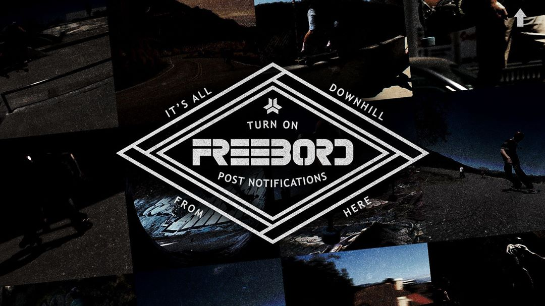 Due to recent changes, Instagram would like you to now see your feed based off what they deem is most popular. Please turn on post notifications from @Freebord to stay up to date on all our downhill shredding. #SnowboardTheStreets #SpreadTheShred