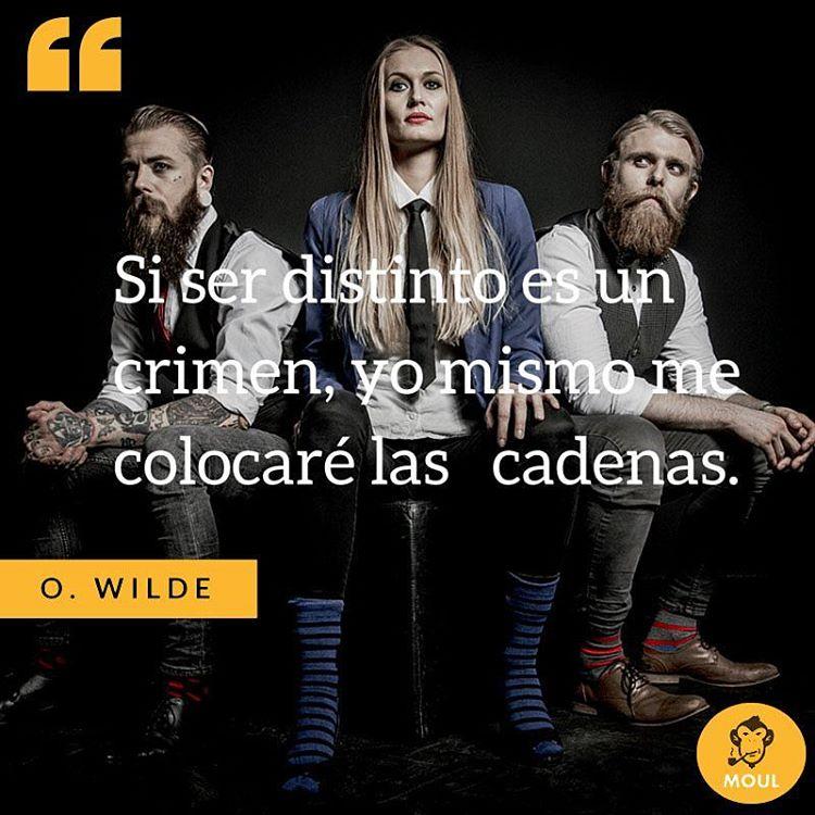 #Quotes #Kickthecliche #Sockstofacetheworld #Inspiration #Style #Diseño #Moda #Fashion #Instapic #Frases #OscarWilde