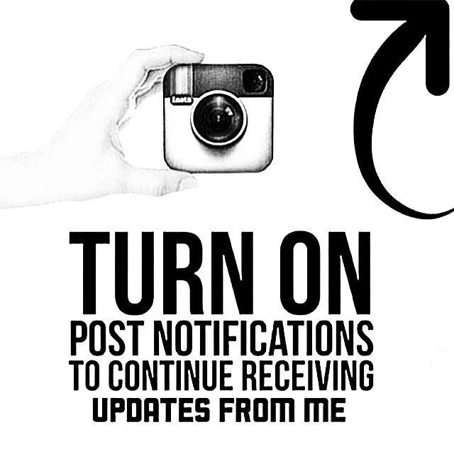 Please turn on post notification! Instagram no mostrará más las actualizaciones en orden cronológico, así que si quieres mantenerte al día con #slyskateboards simplemente #turnonpostnotifications  @cris_cio @sabrinaambrosibordo  @braiantuner
